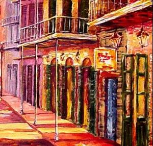 Detail Image for art Night Glow - New Orleans - SOLD