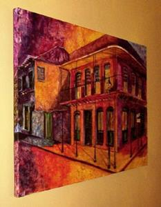 Detail Image for art French Quarter-After Hours-SOLD