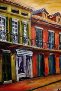 Detail Image for art Vieux Carre' - SOLD