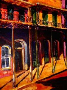 Detail Image for art FRENCH QUARTER AFTERNOON - SOLD