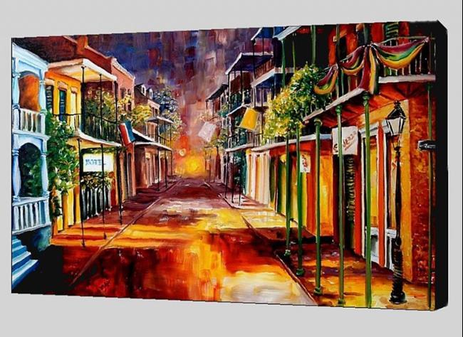 Art: Twilight in New Orleans by Artist Diane Millsap