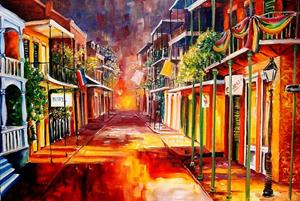 Detail Image for art Twilight in New Orleans