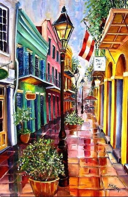 Art: Reflections on Exchange Alley by Artist Diane Millsap