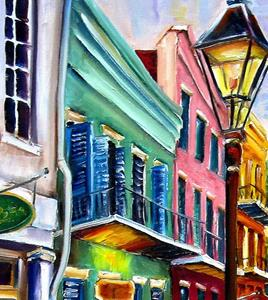 Detail Image for art Reflections on Exchange Alley