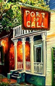Detail Image for art Port of Call - New Orleans- SOLD