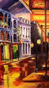 Detail Image for art French Quarter Glimmer - SOLD