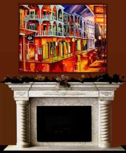 Detail Image for art French Quarter Glimmer - SOLD
