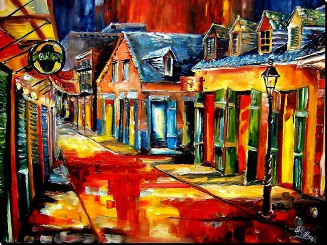 Art: French Quarter Jive - SOLD by Artist Diane Millsap
