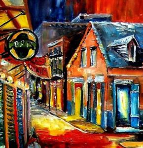 Detail Image for art French Quarter Jive - SOLD