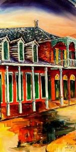 Detail Image for art St. Ann Street - Diptych - SOLD