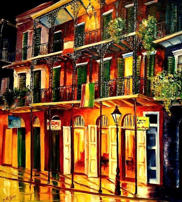 Art: Along St. Peter Street by Artist Diane Millsap