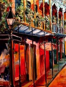 Detail Image for art Beautiful Royal Street - SOLD