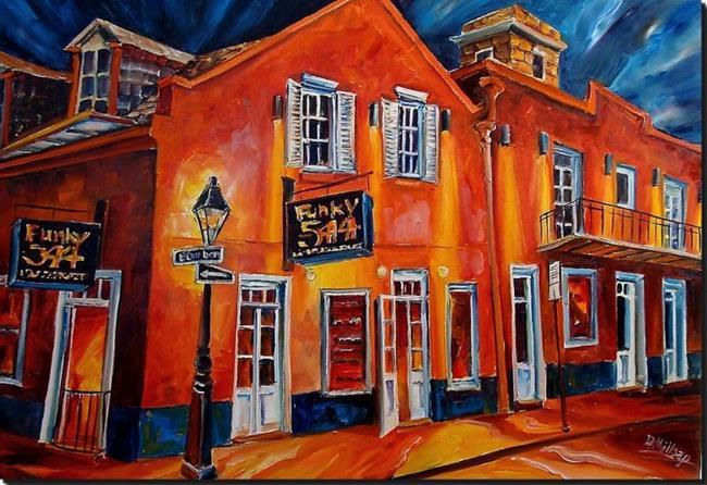 Art: Funky New Orleans - SOLD by Artist Diane Millsap