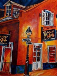 Detail Image for art Funky New Orleans - SOLD