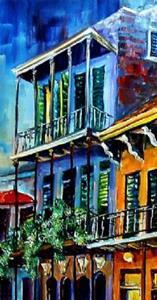 Detail Image for art French Quarter at Dusk - SOLD