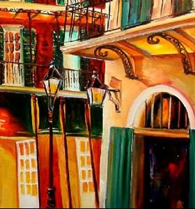 Detail Image for art Bourbon Street - SOLD