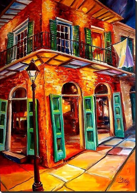 Art: Jazz Corner Jump SOLD by Artist Diane Millsap