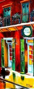 Detail Image for art New Orleans' St.Peter Street SOLD