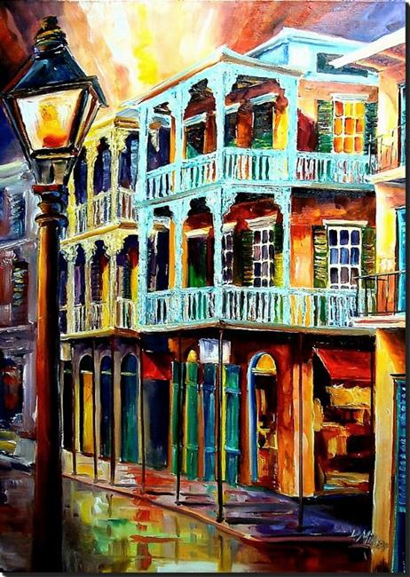 Art: New Orleans Reverie - SOLD by Artist Diane Millsap