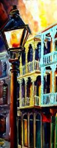 Detail Image for art New Orleans Reverie - SOLD