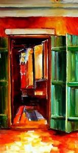 Detail Image for art Always Open on Bourbon Street - SOLD