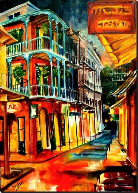 Art: New Orleans Spring Night - SOLD by Artist Diane Millsap