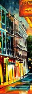 Detail Image for art New Orleans Spring Night - SOLD