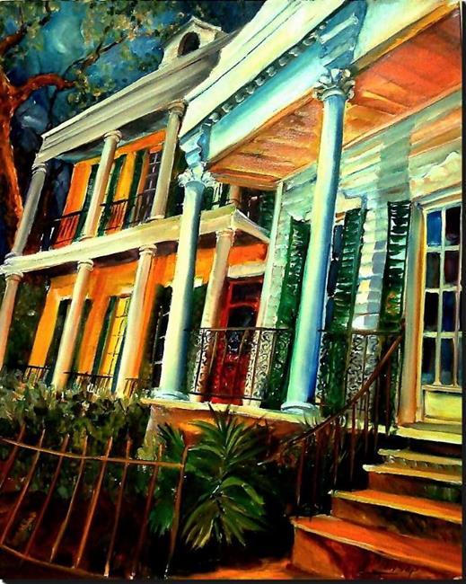 Art: Uptown Style! SOLD by Artist Diane Millsap
