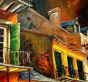 Detail Image for art Rockin' Bourbon Street - SOLD