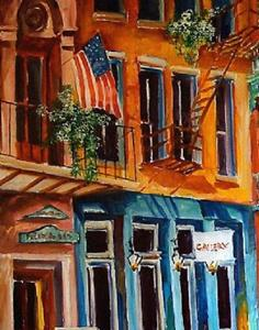 Detail Image for art Charming Chartres Street - SOLD