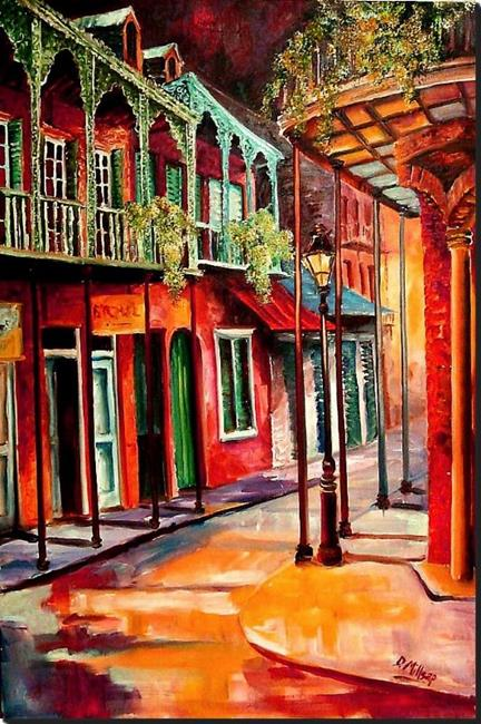 Art: Escape to New Orleans - SOLD by Artist Diane Millsap