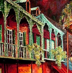 Detail Image for art Escape to New Orleans - SOLD