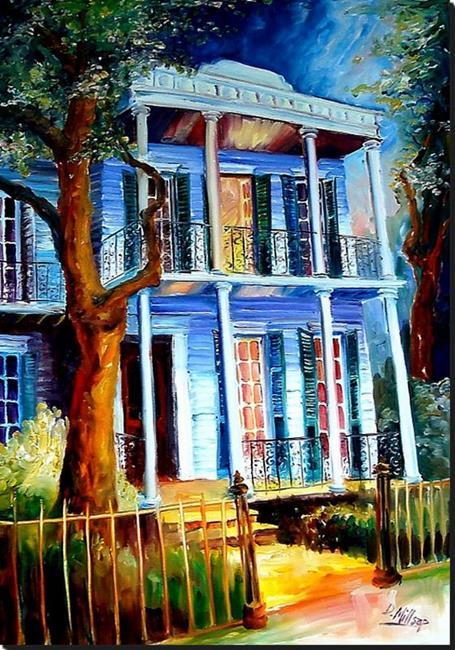 Art: Summer Night - SOLD by Artist Diane Millsap