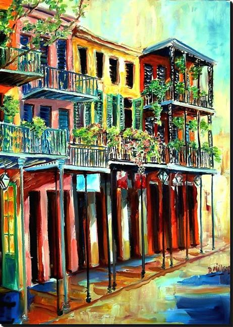 Art: French Quarter Bliss - SOLD by Artist Diane Millsap