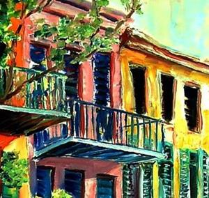 Detail Image for art French Quarter Bliss - SOLD