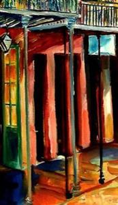 Detail Image for art French Quarter Bliss - SOLD
