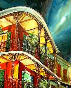Detail Image for art French Quarter Joie - SOLD