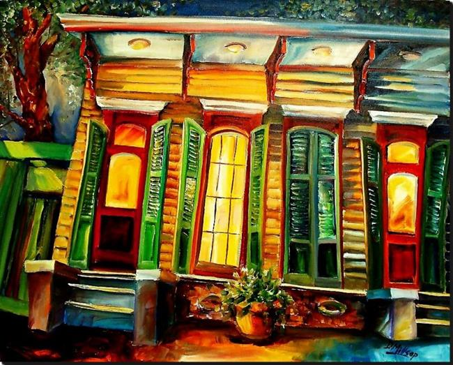 Art: Night, Nawlins Style - SOLD by Artist Diane Millsap