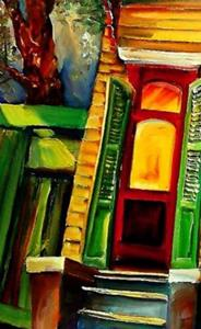Detail Image for art Night, Nawlins Style - SOLD
