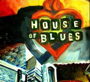 Detail Image for art New Orleans House of Blues - SOLD