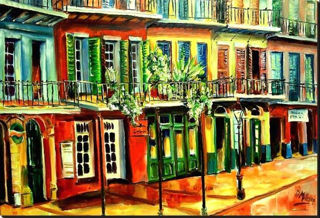 Art: View from Margaritaville - SOLD by Artist Diane Millsap