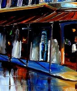 Detail Image for art Napoleon House in the French Quarter - SOLD