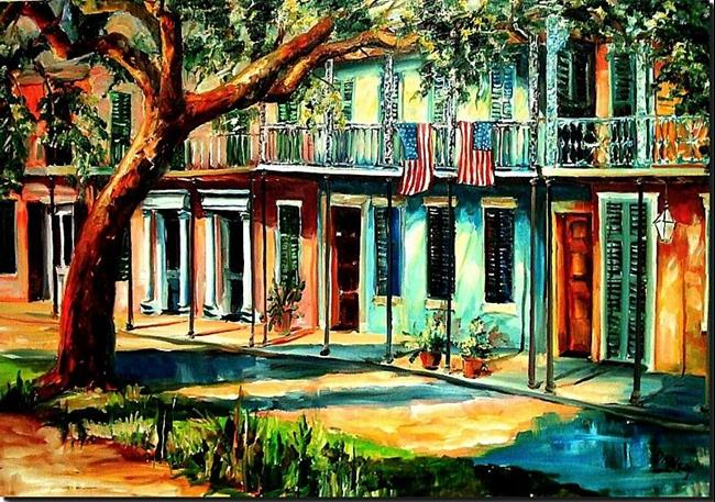 Art: Esplanade Avenue - SOLD by Artist Diane Millsap