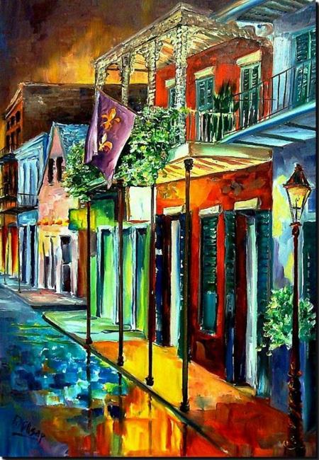 Art: Bourbon Street Song - SOLD by Artist Diane Millsap