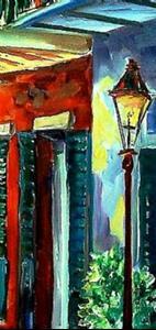 Detail Image for art Bourbon Street Song - SOLD