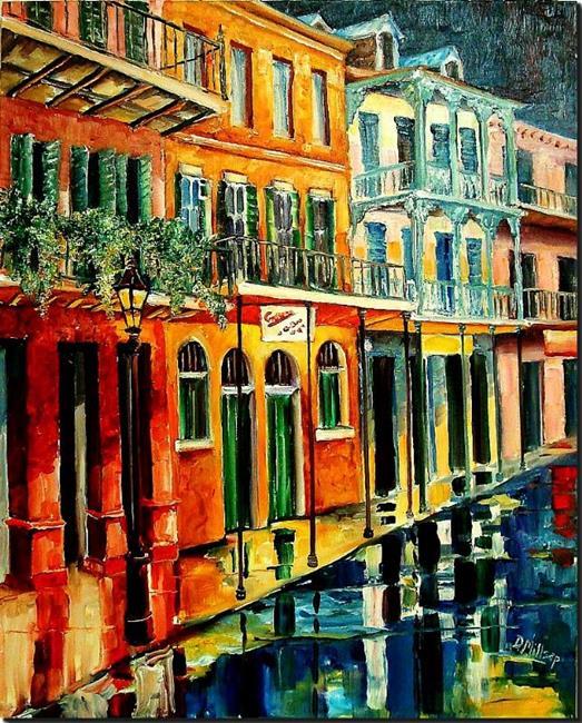 Art: Night Reflections - SOLD by Artist Diane Millsap