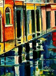 Detail Image for art Night Reflections - SOLD