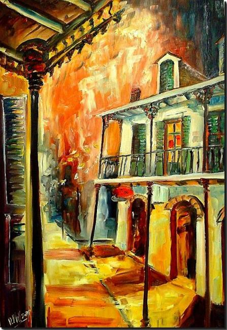 Art: Big Easy Night - SOLD by Artist Diane Millsap