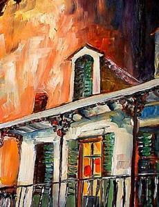 Detail Image for art Big Easy Night - SOLD