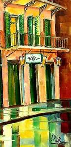 Detail Image for art St. Peter Street- New Orleans - SOLD